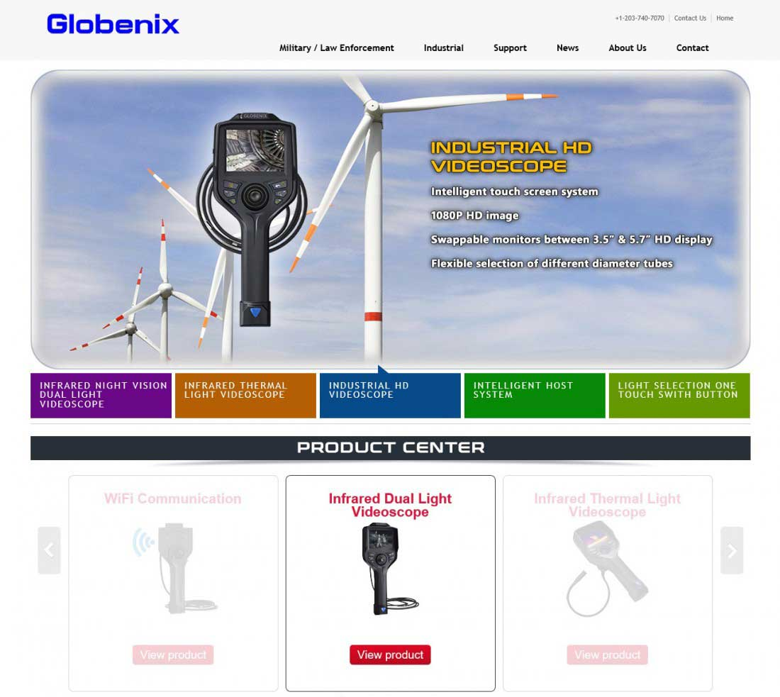 Globenix - 기업홍보 사이트